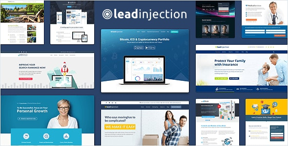 Leadinjection 2.3.12 - Landing Page Theme