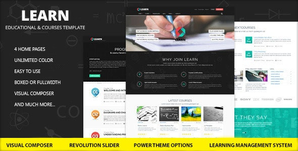 Learn 1.0.9.1 - Education, eLearning WordPress Theme