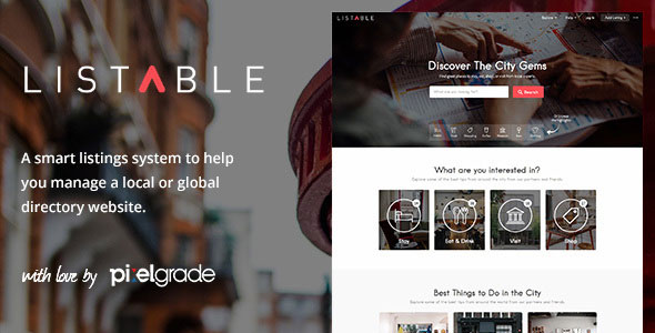 Listable 1.13.0 -  A Friendly Directory WordPress Theme