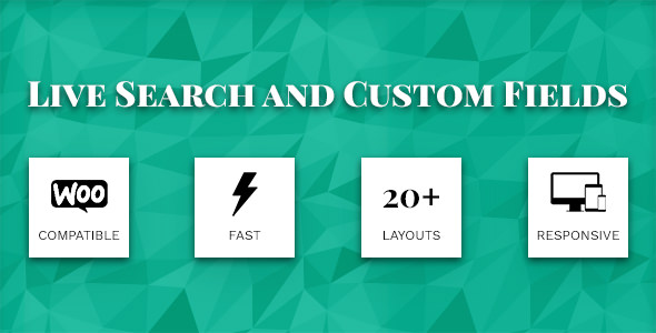 Live Search and Custom Fields 2.6.8 - WordPress Filter, Search & WooCommerce Product Filter