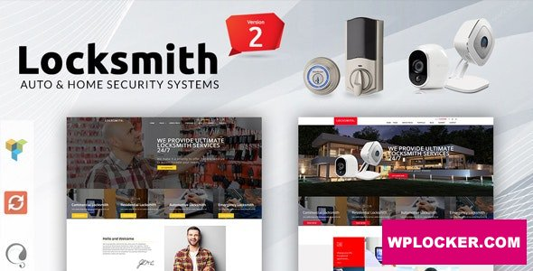 Locksmith 3.5 - Security Systems WordPress Theme