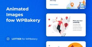 Lottier 1.0.1 - Lottie Animated Images for WPBakery