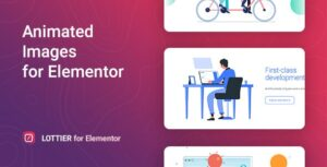 Lottier 1.0.3 - Lottie Animated Images for Elementor