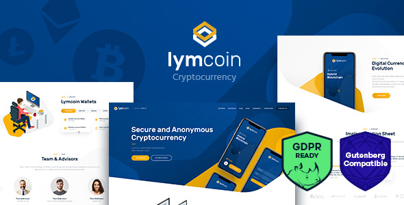Lymcoin 1.3.1 - Cryptocurrency & ICO WordPress Theme