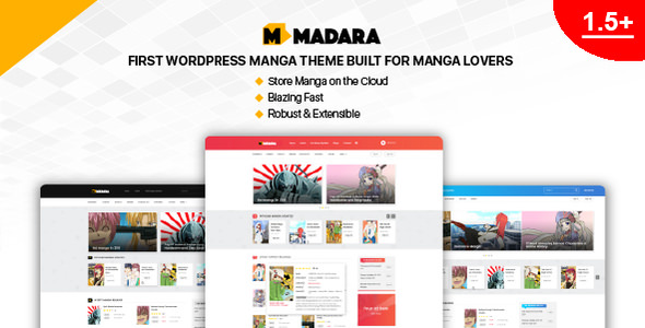 Madara 1.6.4.5 - WordPress Theme for Manga