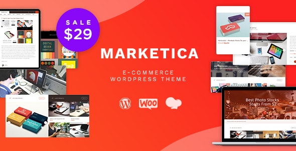 Marketica 4.6.2 - Marketplace WordPress Theme