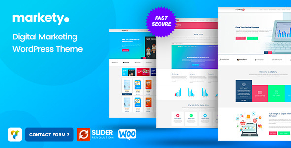 Markety 1.5 - SEO and Digital Marketing WordPress Theme