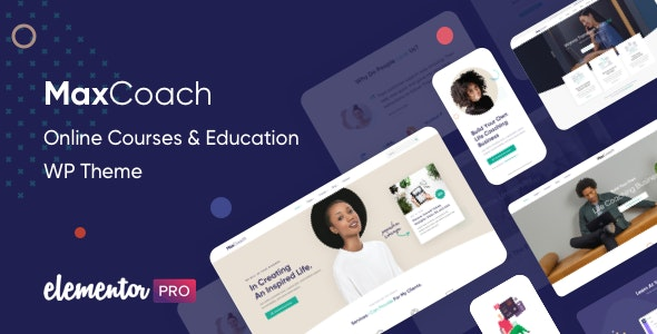 MaxCoach 1.4.5 - Online Courses & Education WP Theme