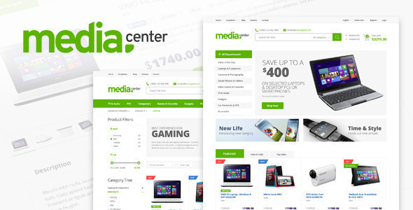MediaCenter 2.7.15 - Electronics Store WooCommerce Theme