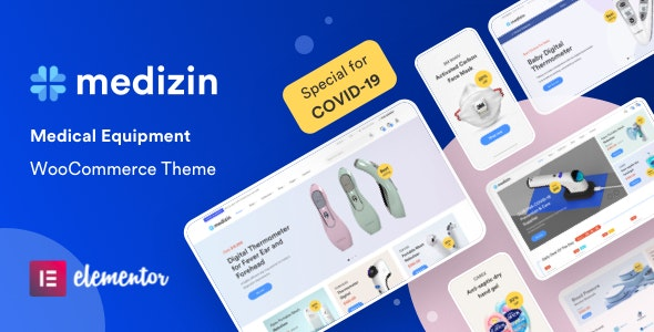 Medizin 1.1.3 Nulled - Medical Elementor WooCommerce Theme