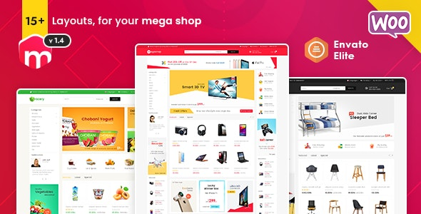 Mega Shop 1.4.1 - WooCommerce Multi-Purpose Responsive Theme
