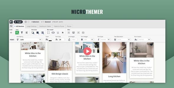 Microthemer 6.2.4.9 Nulled - WordPress Visual Design CSS Plugin