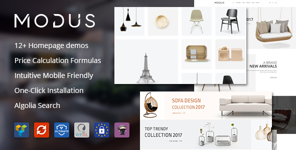 Modus 1.6.0 - Modern Furniture WooCommerce Theme