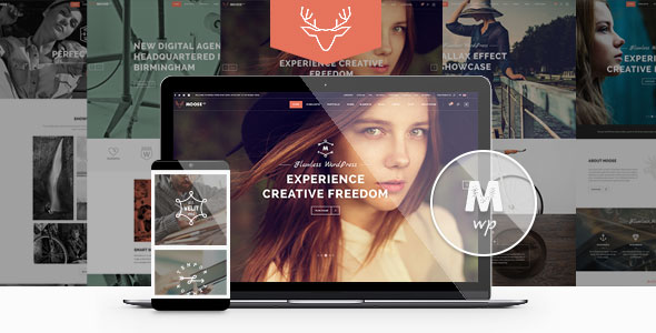 Moose 3.2 - Creative MultiPurpose WordPress Theme