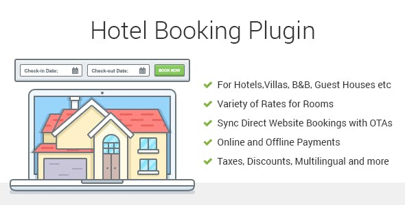 MotoPress Hotel Booking 3.8.3 - Hotel Booking WordPress Plugin