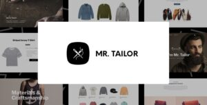 Mr. Tailor 2.9.13 - Fashion and Clothing Online Store Theme for WooCommerce