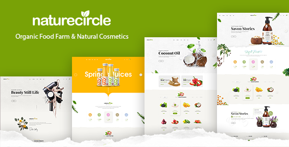NatureCircle 1.0.4 - Organic Theme for WooCommerce WordPress