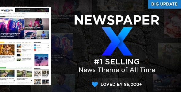 Newspaper 10.3.6.1 Nulled - The Best News Magazine WordPress Theme