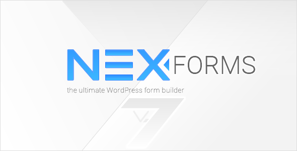 NEX-Forms 7.5.8 - The Ultimate WordPress Form Builder