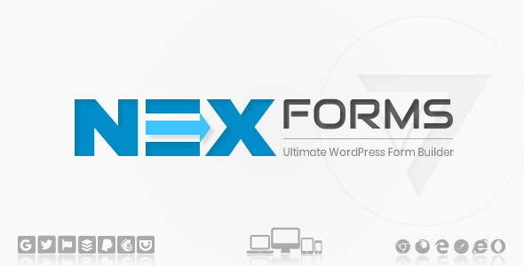 NEX-Forms 7.6.1 Nulled - The Ultimate WordPress Form Builder