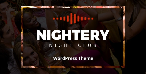 Nightery 1.2.6 - Night Club WordPress Theme