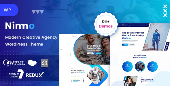 Nimmo 1.1.9 - One page WordPress Theme for Creative