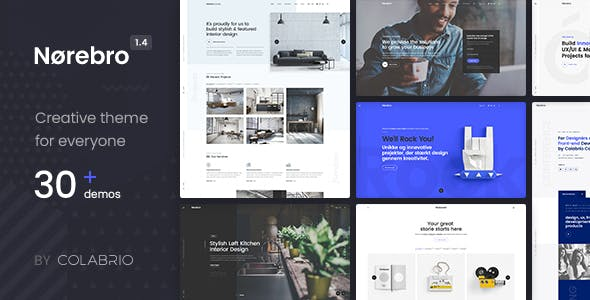 Norebro 1.5.0 - Creative Multipurpose WordPress Theme