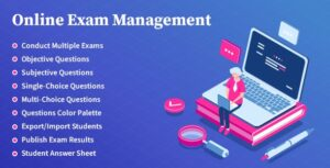 Online Exam Management 2.0 Nulled - Education & Results Management
