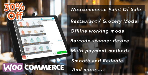 Openpos 4.5.1 - WooCommerce Point Of Sale (POS)