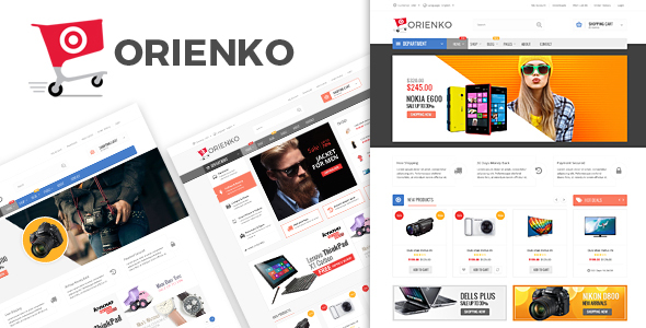 Orienko 1.4.7 Nulled - WooCommerce Responsive Digital WordPress Theme