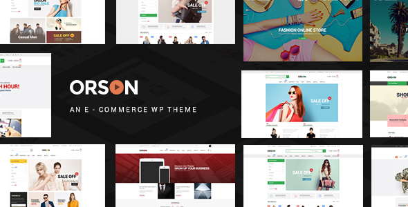Orson 2.7 - Innovative Ecommerce WordPress Theme