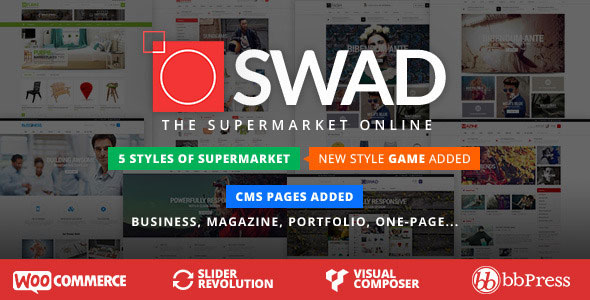 Oswad 3.2.0 - Responsive Supermarket WordPress Theme
