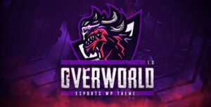 Overworld 1.0 - eSports and Gaming Theme