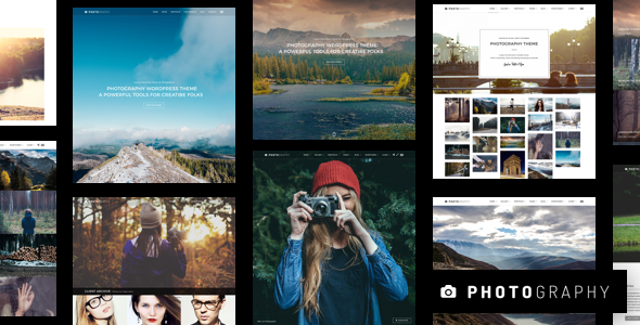 Photography 5.7 (Nulled) - Responsive Photography WordPress Theme