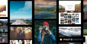 Photography 5.9.2 (Nulled) - Responsive Photography WordPress Theme