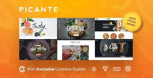 Picante 2.1.1 - Restaurant WordPress Theme