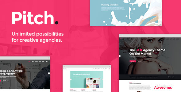Pitch 3.1 - A Theme for Freelancers and Agencies