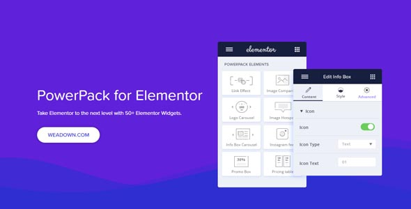 PowerPack For Elements 2.1.1 Nulled - Addons for Elementor