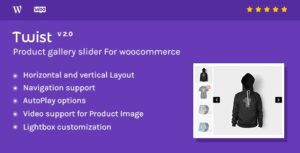 Product Gallery Slider for Woocommerce - Twist Nulled v2.1.0.1