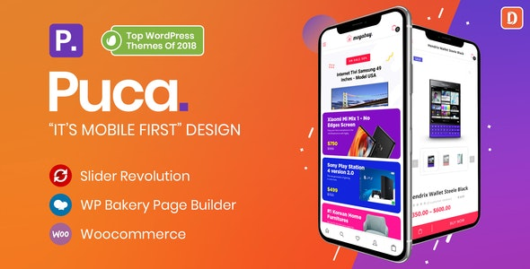 Puca 2.2.1 - Optimized Mobile WooCommerce Theme