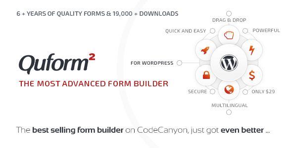 Quform 2.12.1 Nulled - WordPress Form Builder