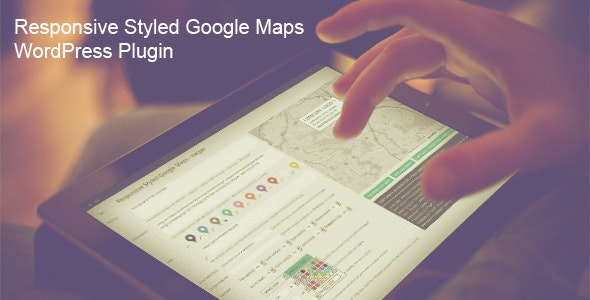 Responsive Styled Google Maps 5.0 - WordPress Plugin