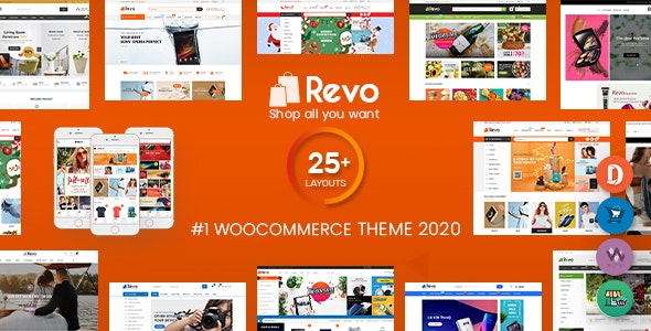 Revo 3.9.0 Nulled - Multipurpose WooCommerce WordPress Theme