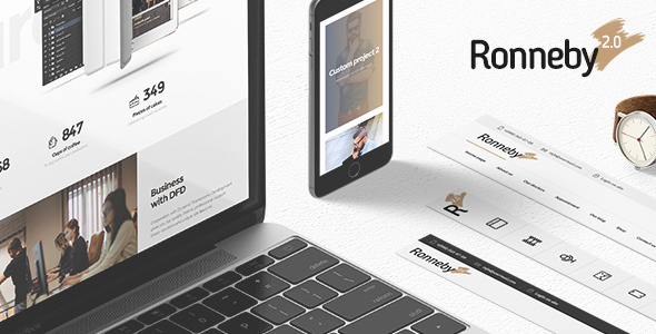 Ronneby 3.2.7 Nulled - High-Performance WordPress Theme