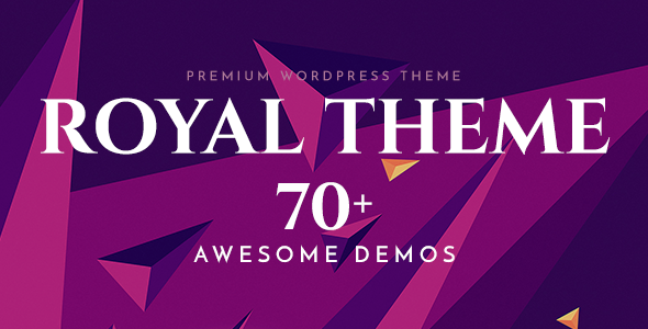 Royal 6.3.2 - Multi-Purpose WordPress Theme