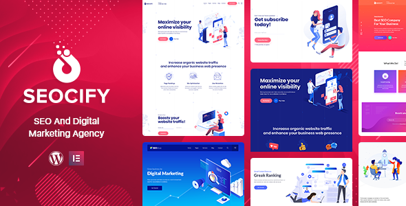 Seocify 2.3 - SEO And Digital Marketing Agency WordPress Theme