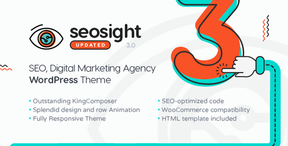 Seosight 3.4 - SEO, Digital Marketing Agency WP