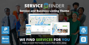Service Finder 3.5 - Provider and Business Listing WordPress Theme