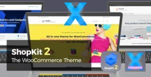 ShopKit 2.3.2 Nulled - The WooCommerce Theme