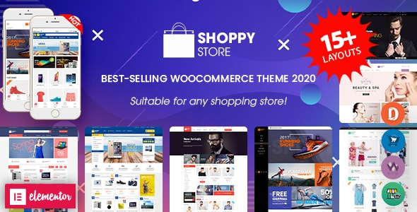 ShoppyStore 3.5.9 Nulled - Multipurpose Responsive WooCommerce WordPress
